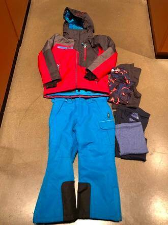 3495edd7e Rent Hire Size 4 Boys Ski Jacket   Pants Bundle