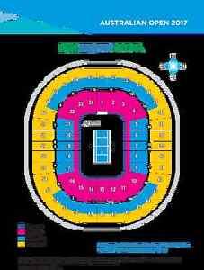 4 Australian open tickets, Saturday night(21/01/2017) Rod laver a Melbourne CBD Melbourne City Preview