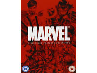Marvel 4 animated features collection dvd boxset