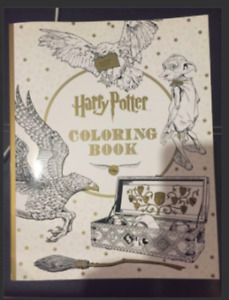 Brand New Harry Potter Adult Colouring Book