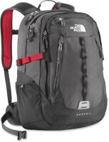 Red North Face Surge 2 backpack