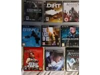 Ps3 game bundle (open for offers)