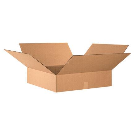 """24 x 24 x 6"""" Flat Corrugated Boxes - 10 Per Bundle"""