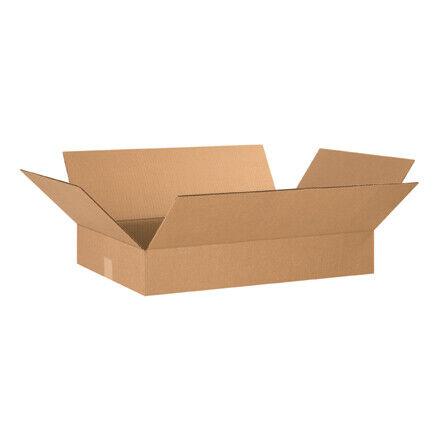 """24 x 16 x 4"""" Flat Corrugated Boxes - 25 Per Bundle"""