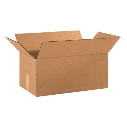 "18 x 10 x 8"" Corrugated Boxes - 25 Per Bundle"