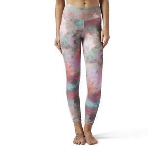 Reebok Women's Reebok Lux Bold Chalked Print Legging