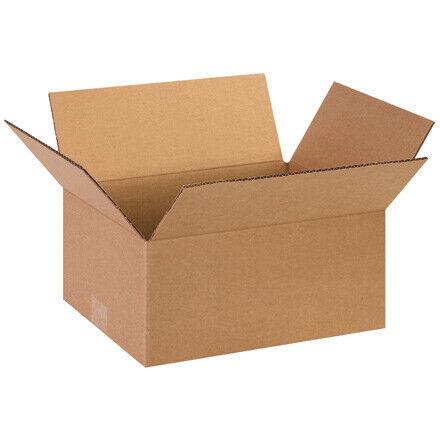 "13 x 10 x 6""  Corrugated Boxes - 25 Per Bundle"
