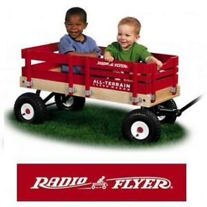 NEW* RADIO FLYER CARGO WAGON 29 247683676 ALL TERRAIN PULL ALONG