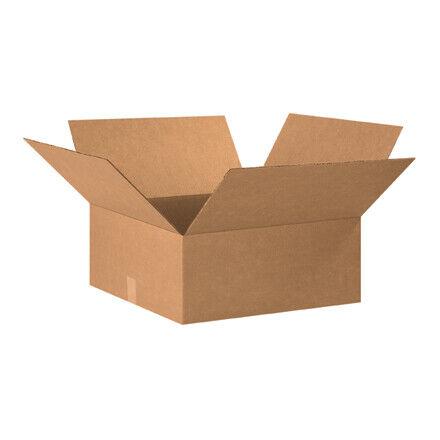 """20 x 20 x 8"""" Flat Corrugated Boxes - 15 Per Bundle"""