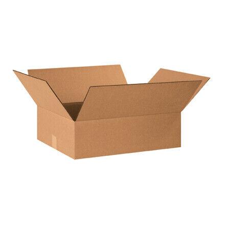 """20 x 16 x 6"""" Flat Corrugated Boxes - 25 Per Bundle"""