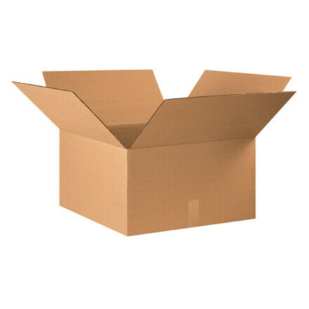 "22 x 22 x 12"" Corrugated Boxes - 10 Per Bundle"