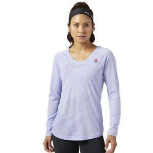 Reebok Women's Burnout Long Sleeve Tee