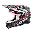 Scorpion Red ATV Helmets