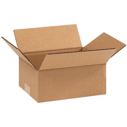 "9 x 7 x 4"" Corrugated Boxes - 25 Per Bundle"
