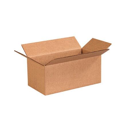 """10 x 5 x 4"""" Long Corrugated Boxes - 25 Per Bundle"""