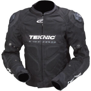 Motorcycle jacket for tall riders - Teknic Supervent Pro