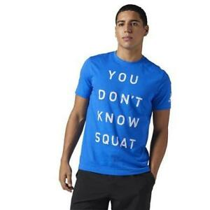 Reebok Men's Dont Know Squat Tee