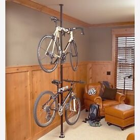 Topeak Dual Touch Bike stand - stores two bikes without fixtures!