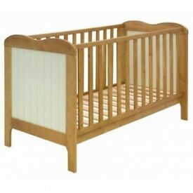 Saplings Stephanie cot bed and over cot top changer - excellent condition