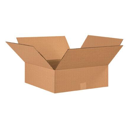 """17 x 17 x 6"""" Flat Corrugated Boxes - 20 Per Bundle"""