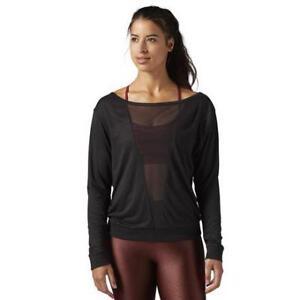 Reebok Women's Mesh Long Sleeve Shirt