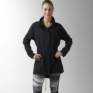 Reebok Womens The Noble Fight Fish Tail Parka
