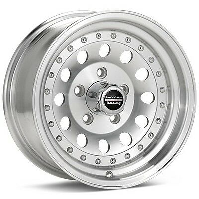 4 15 inch AR62 Machined 15x7 E150 Van F100 F150 Truck Wheels 5x5.5 5x139.7 , used for sale  Binghamton