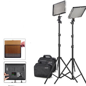 Aputure Amaran LED Panel 2 Lights Professional Photography Video