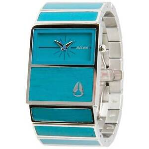 Authentic Nixon CHALET Ladies Watch With Bamboo Enamel Inlay Seaford Morphett Vale Area Preview