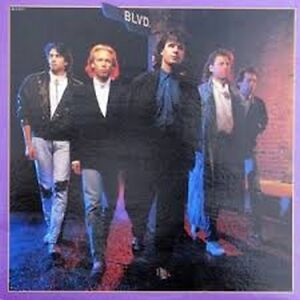 BLVD. Vinyl Album - 1988 - Canadian Rock from Vancouver
