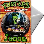 Turtles Cards