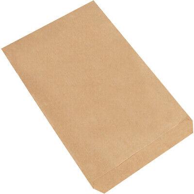 7.5 X 10.5 Kraft Flat Merchandise Paper Mailer Envelopes Bags - Pack Of 2000