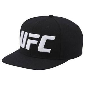Reebok Men's Oversized Logo Flat Brim Hat