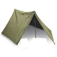 Military pup tent - both halves