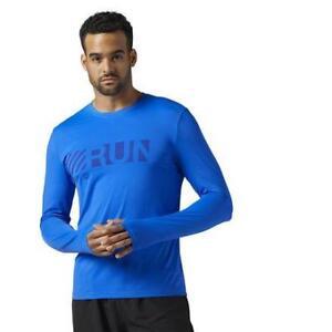 Reebok Men's Running Activchill Long Sleeve Tee
