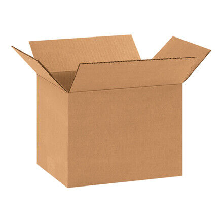 "11 x 8 x 8"" Corrugated Boxes - 25 Per Bundle"