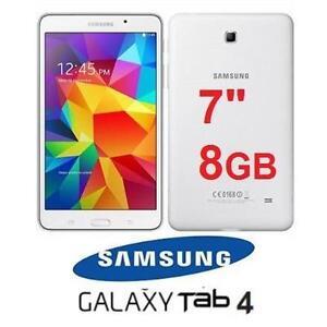 """NEW OB SAMSUNG GALAXY TAB 4 TAB 7"""" WHITE - 8GB - ELECTRONICS 97217419"""