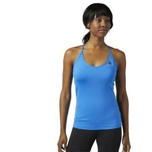 Reebok Women's Workout Ready Tri Back Built-in-bra Tank