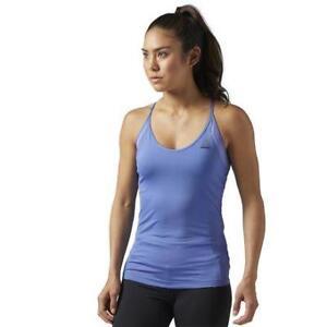Reebok Women's Workout Ready Tri Back Built-in-bra Tank