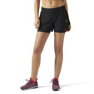 Reebok Women's LES Mills Cordura Woven Shorts