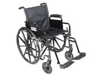 Self propelled wheelchair - almost new
