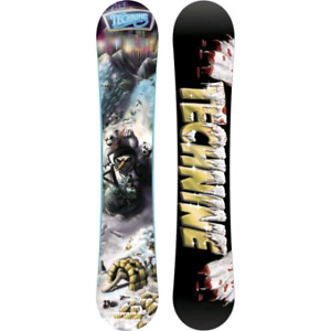 Technine TK pro snowboard with burton tribute boots