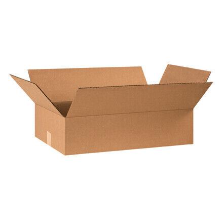 """24 x 14 x 6"""" Flat Corrugated Boxes - 25 Per Bundle"""