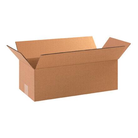 """18 x 8 x 4"""" Long Corrugated Boxes - 25 Per Bundle"""