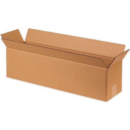 """20 x 4 x 4"""" Long Corrugated Boxes - 25 Per Bundle"""