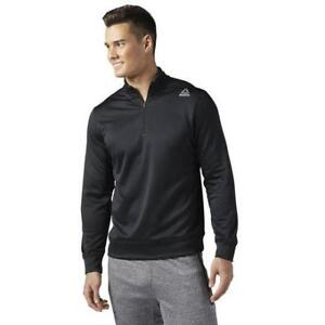 Reebok Men's Workout Ready 1/4 Zip Sweatshirt