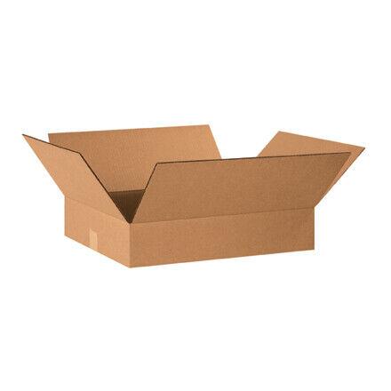 """20 x 16 x 4"""" Flat Corrugated Boxes - 25 Per Bundle"""