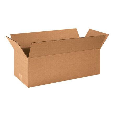 """24 x 10 x 8"""" Long Corrugated Boxes - 25 Per Bundle"""