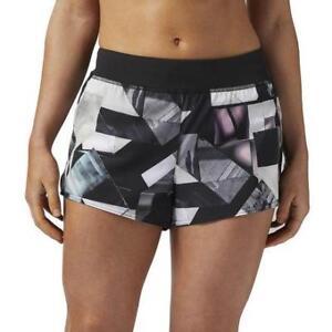 Reebok Women's Origami Print Woven Short