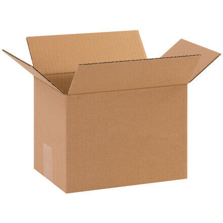 "10 x 7 x 7"" Corrugated Boxes - 25 Per Bundle"